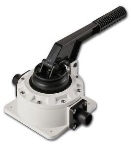 SEAFLO 720 GPH Boat Marine Manual Diaphragm Hand Bilge Water Pump Aluminium