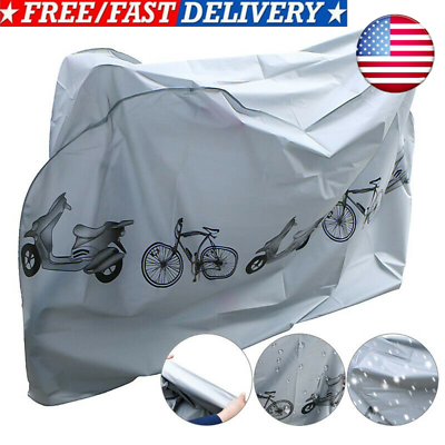 PEVA Waterproof Bicycle Cover Bike Sun Rain Snow Dust Dust Protector New