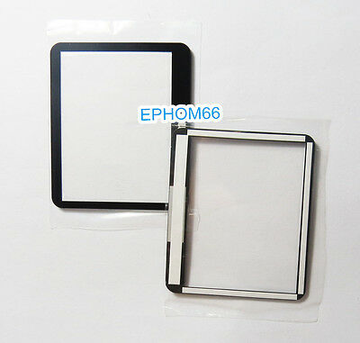 Outer LCD Screen Display Window Glass Protecor For Canon 1000D DSLR + tape