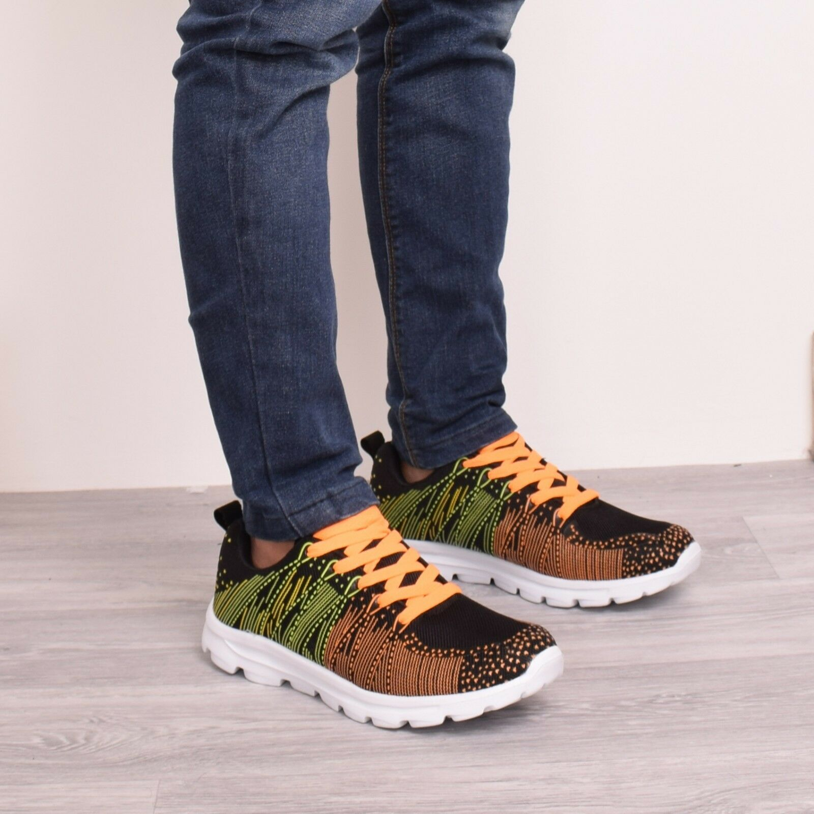 New Mens Running Gym Casual Walking Trainers Lace Up Light Weight Shoe Comfortable Special limited time Great discount