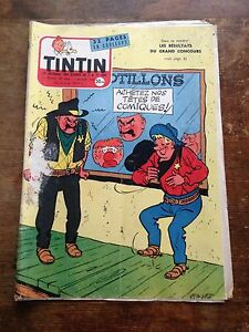 journal-tintin-486-France-1958-couv-Tibet