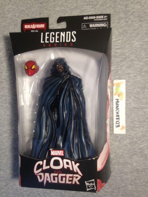 MARVEL LEGENDS SPIDER-MAN CLOAK SP//DR BAF WAVE IN HAND!