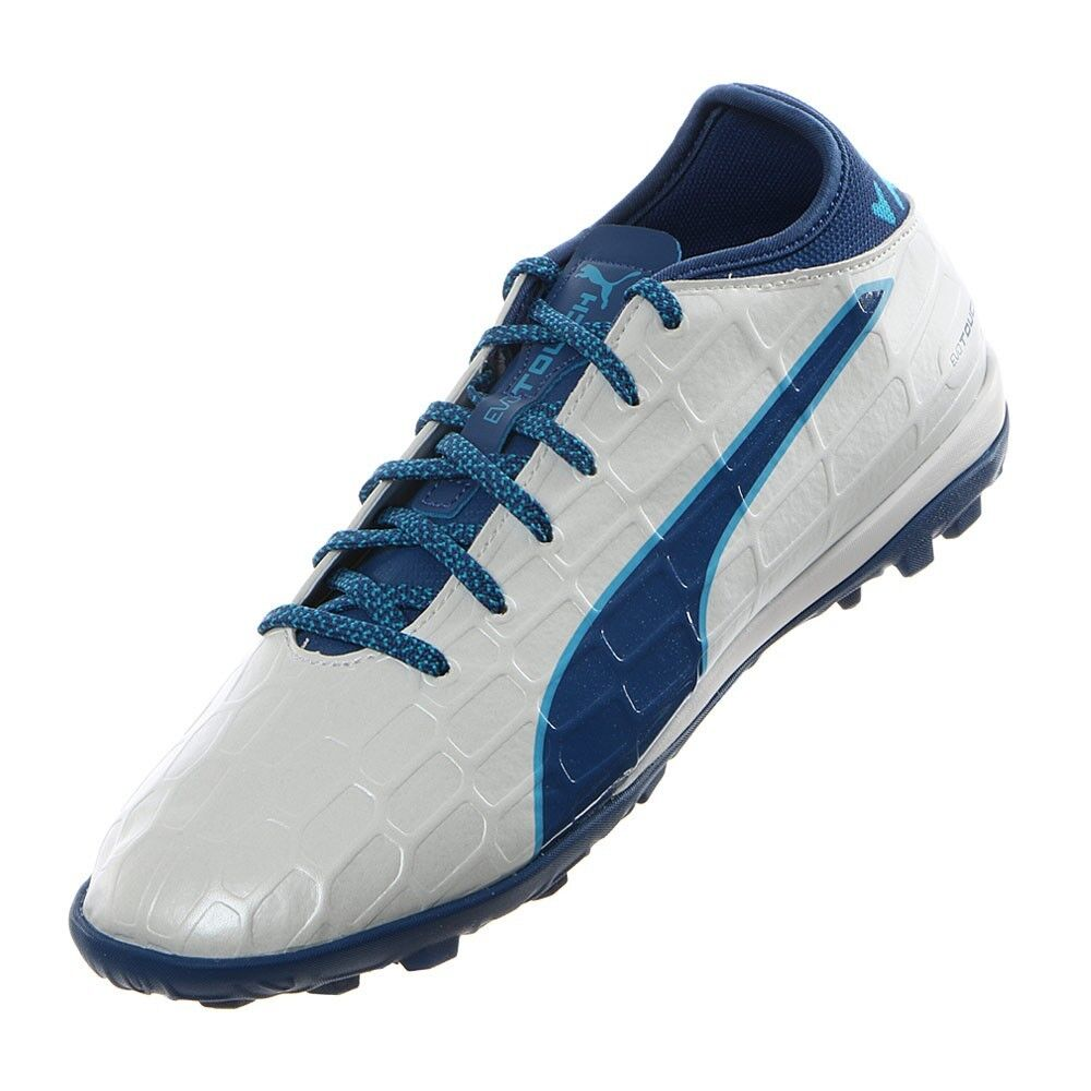 NEW  120 MENS PUMA EVOTOUCH 3 TT TURF SOCCER FOOTBALL CLEATS SHOES