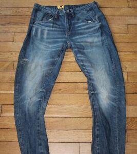 Détails sur G STAR Jeans Homme W 26 L 32 Taille Fr 40 NEUF ARC 3D LOW BOYFRIEND Réf J082