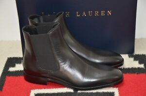 b564068a Details about Ralph Lauren Purple Label Made in Italy Barnham Leather Ankle  Boots