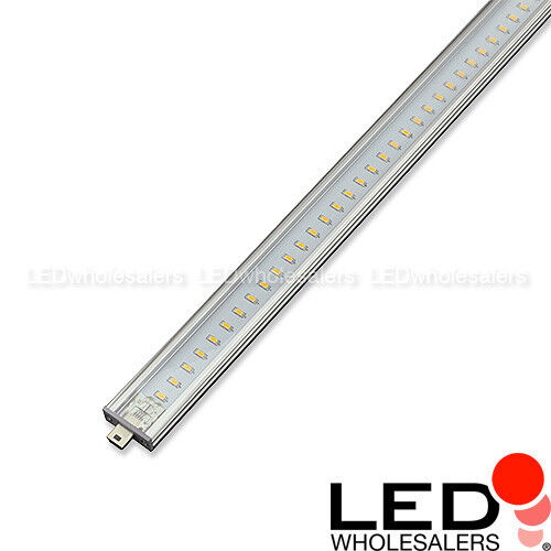 12 Linkable Low Profile LED Rigid Strip for Display Case & Under Cabinet Light