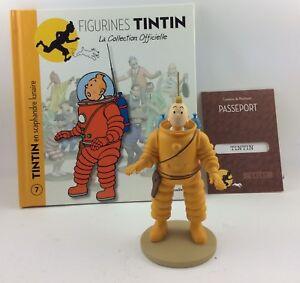 Realistisch Offizielle Sammlung Tim Figur Moulinsart 07 Und Struppi In Schneeanzug Lunaire Action- & Spielfiguren
