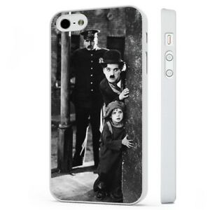 Charlie-Chaplin-Comedy-Film-Scene-WHITE-PHONE-CASE-COVER-fits-iPHONE
