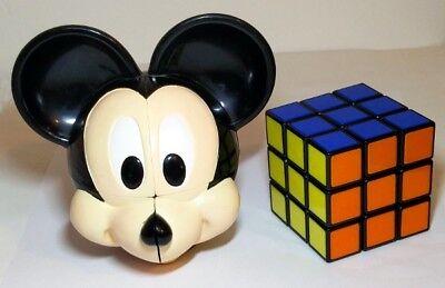 Estremamente Raro Mickey Mouse Disney Cubo Di Rubik Rubix 2x2 2x2x2-mostra Il Titolo Originale