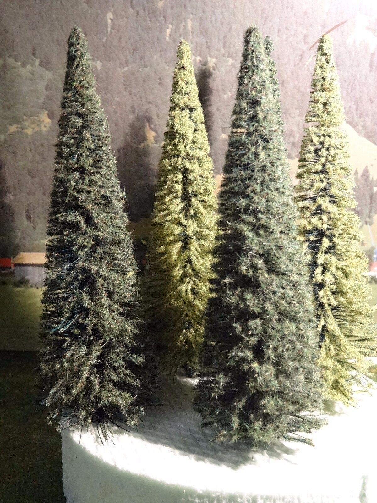 Spur G LGB Gartenbahn Bäume 4er Konvolut ca. 28 cm bis ca. 30 cm hoch Neu OVP