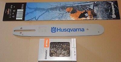 """Business & Industrie Original Husqvarna Schiene Schwert 13"""" 33 Cm 1,5 Mm 325"""" 1x Rs Sägekette"""