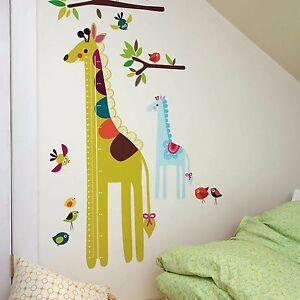 WALLIES Wandsticker Giraffe Messlatte Kinderzimmer Wand Deko ... | {Kinderzimmer wand 25}