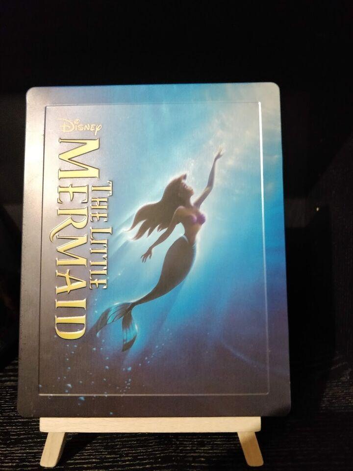 The Little Mermaid Steelbook, Blu-ray, animation