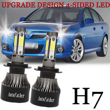 Vauxhall Vectra MK2//C Blue 4-LED Xenon Bright Side Light Beam Bulbs Pair Upgrade