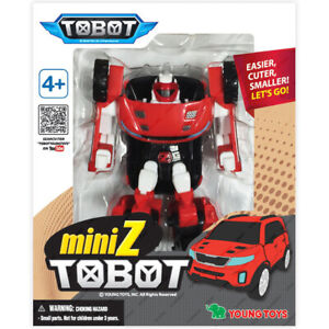 Young Toys Original NEW /& Sealed TOBOT Adventure Mini Y Transformers