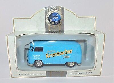 Lledo Promotional Models RARE Krombacher Pils VW Camper Van
