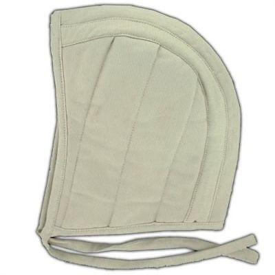 Armory Replicas Medieval Renaissance Cotton Padded Coif Arming Cap White