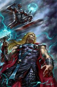 Thor-8-Lucio-Parrillo-Virgin-Variant-2020-Cates-Silver-Surfer-Knull-NM
