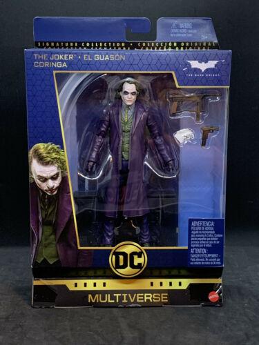 "il Cavaliere Oscuro Joker Heath Ledger DC Multiverso 6/"" DELUXE WAVE 3"