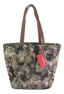 Signare-Cat-Large-Tapestry-Shoulder-Bag-Cats-amp-Kittens-Design