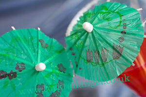 Image Is Loading 50 XGREEN COCKTAIL UMBRELLA DRINK DECORATIONS GREEN  COCKTAIL