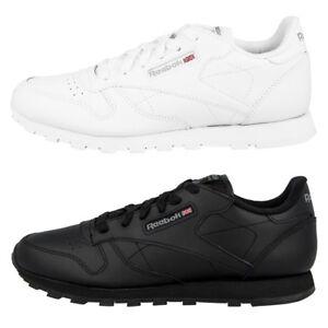 Reebok-Classic-Leather-GS-Chaussures-cuir-sneaker-Femmes-Classique-Loisirs-sport
