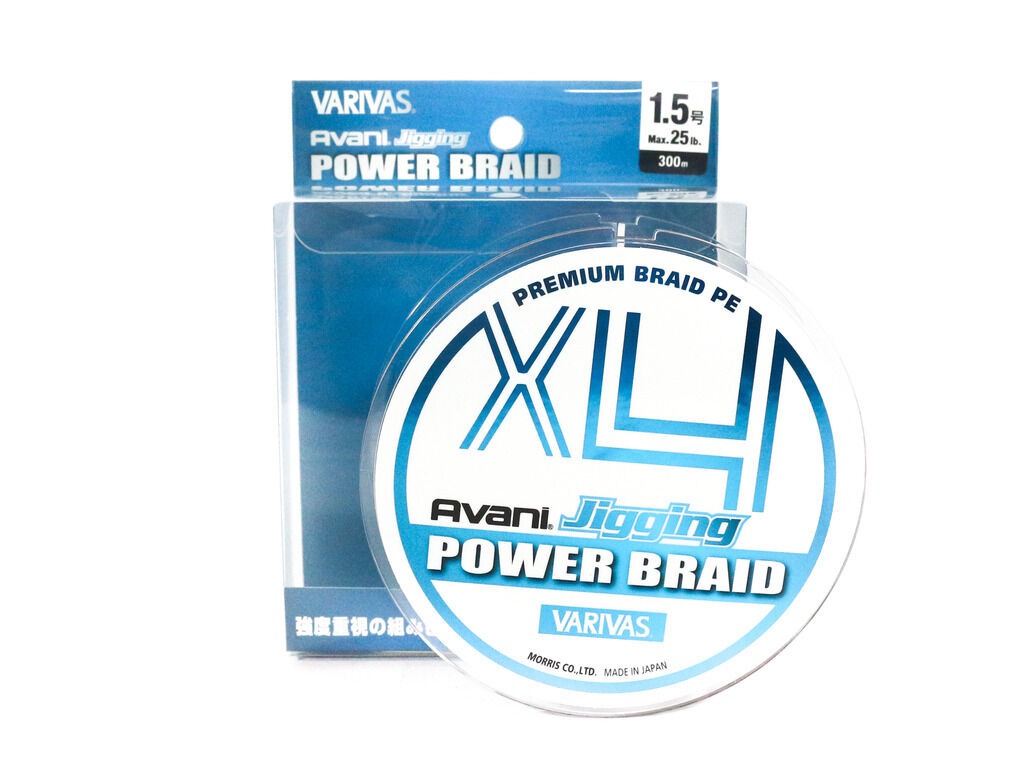 Varivas P.E Line Avani Jigging X4 Power Braid 300m P.E 1.5 25lb (2236)