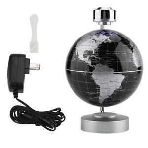 """8"""" Magnetic Floating Globe Levitation C Shape LED World Map Home Decoration Gift"""