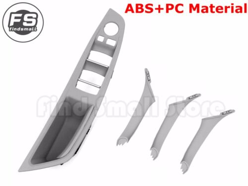 Gray Door Handle Recessed Grip Switch Panel  for BMW 5 Series F10 F11 Upgrated