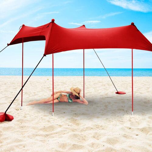 Beach tente//Portable Shade canopy 10 x 12/'