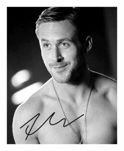 RYAN GOSLING AUTOGRAPHED SIGNED A4 PP POSTER PHOTO 1