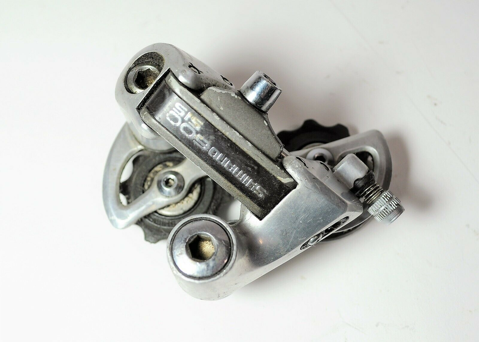 SHIMANO 600EX FIRST GEN SIS BICYCLE 6 7 SP SS SHORT CAGE REAR DERAILLEUR RD-6208