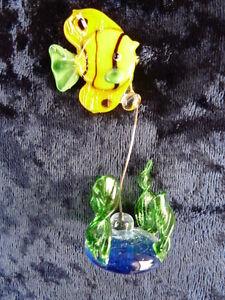 Glasfisch Fisch aus Glas fr 034 Aquarium 034  eBay