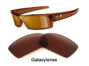 Galaxie-verres-de-rechange-pour-Oakley-Gascan-Lunettes-soleil-marron-couleur