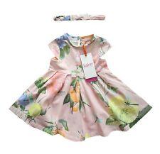 09308a1da04c item 3 Ted Baker Dress Headband Jersey Baby Girl Pink Floral Summer 6-9  Months -Ted Baker Dress Headband Jersey Baby Girl Pink Floral Summer 6-9  Months