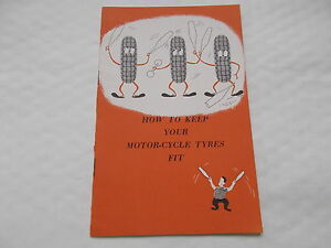 How To keep Your MotorCycle Tyres Fit  16 page Booklet By Dunlop Dated 1961 - Bath, United Kingdom - How To keep Your MotorCycle Tyres Fit  16 page Booklet By Dunlop Dated 1961 - Bath, United Kingdom