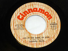Narvel Felts: All In the Name of Love / Before You Have to Go  [Unplayed Copy]