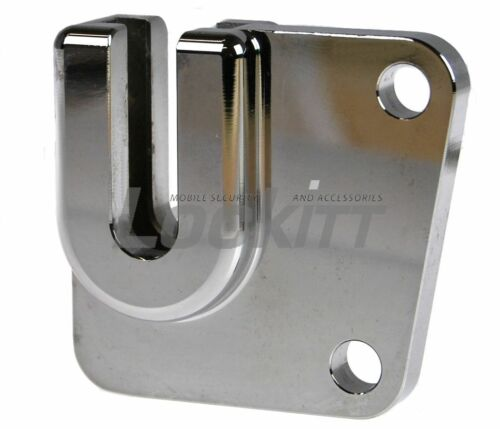 Chrome HD perch mount eCaddy RoadRunner accessory drink holder Made In USA