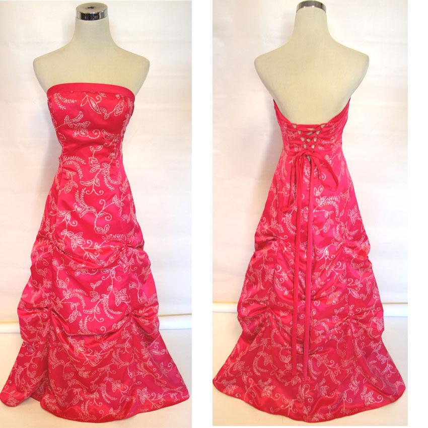 NWT ZUM ZUM  150 Watermelon Formal Evening Ball Gown 7