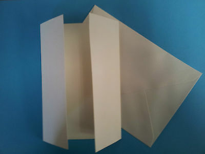 Prescored 225gsm A6 Ivory cards and envelopes