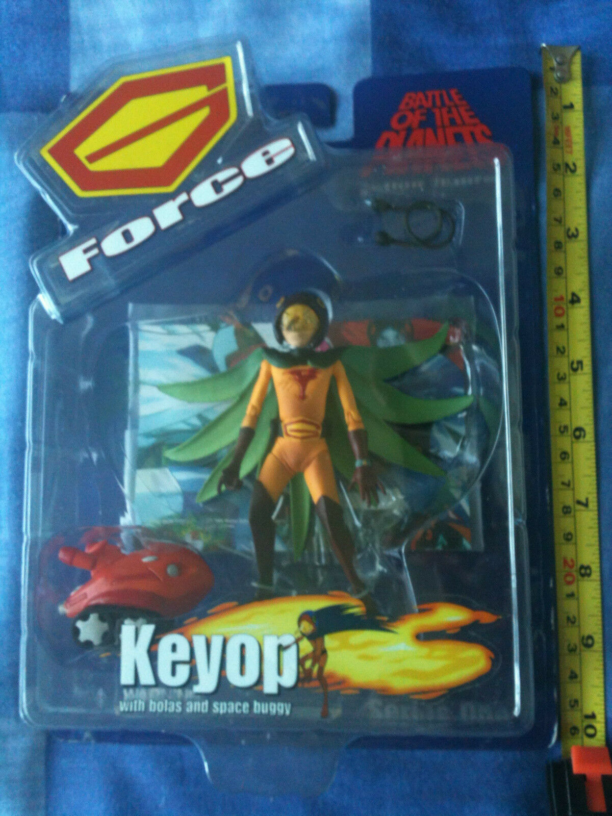 BATTLE OF THE PLANETS Action Figure - 'Keyop' (2002 Sealed) G-Force Gatchaman