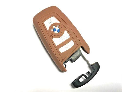 Silicone Keyless Smart Key Fob Protector Case BMW F12 13 F20 21 F30 F26 F3 Brown