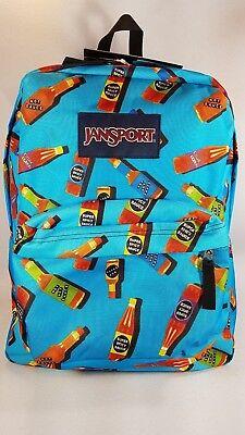 181J01 JanSport Superbreak backpack  FLOWER