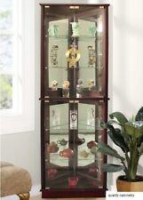 Standard Furniture Woodmont Curio Cabinet 19182   eBay