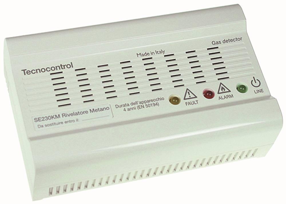 Detector de Gas Se 230km 10% Lie Optic   Acoustic con Relais-Ausgang Natural Na