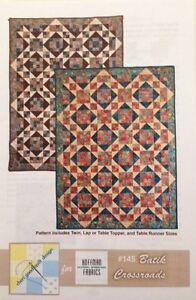 Details About 145 Batik Crossroads Quilt Pattern By Cheri Good Designs