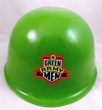 Toy Story Army Man HELMET Green Helmet with chin strap & decals brand new 1998