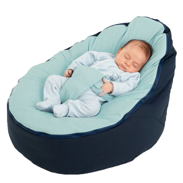 Kids Baby Bean Bag Children Sofa Chair Cover Soft Snuggle Bed Without  Fillingu0026