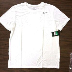 NIKE-Mens-Dri-FIT-Cotton-Training-Tee-Shirt-718588-101-White-Size-S-L-XL-2XL