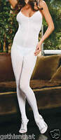 White Slimming Opaque Bodystocking Plus Hosiery Queen Size 1x-2x-3x E1601q